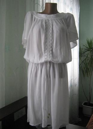 Платье миди,белое/atmosphere