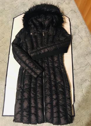 Шикарная куртка / пуховик / пальто дизайнерского бренда zac posen!