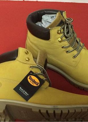 Акция!!!! мужские демисезонные ботинки dockers by gerli р- 42,45