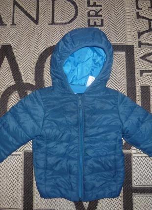 Куртка зимняя baby club c&a (р.86-92 на 2-3роки) курточка