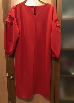 Красное платье top secret2 фото