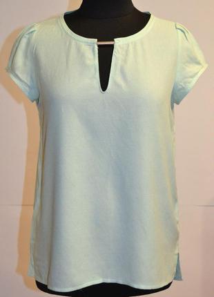 Красивая ментоловая блуза zara