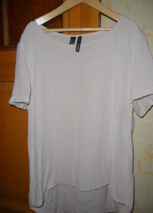 Пудровая блуза mango