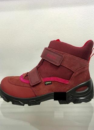Женские зимние ботинки ecco snowboarder на gore-tex оригинал р-37