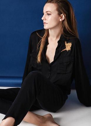 Блузка с вышивкой rabens saloner