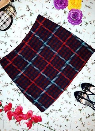 Фирменная теплая короткая юбка tu, размер 50-52, большой размер