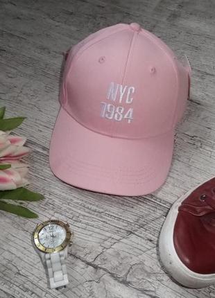 Новая нюдовая розовая кепка nyc