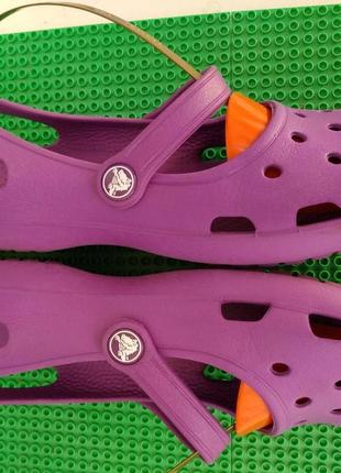 Кроксы тапочки сабо crocs (оригинал, вьетнам) р.7 внутри 24 см