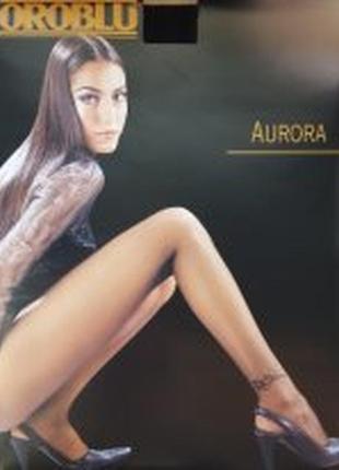 Шикарные фирменные элитные итальянские колготы с тату oroblu aurora - 20den