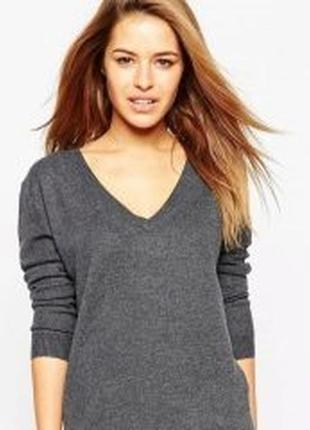 Sale -100грн!!! брендовый теплый пуловер свитер из мериносовой шерсти repeat