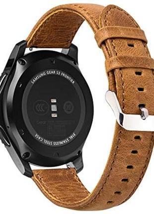 Кожаный ремешок для часов pinhen 24mm