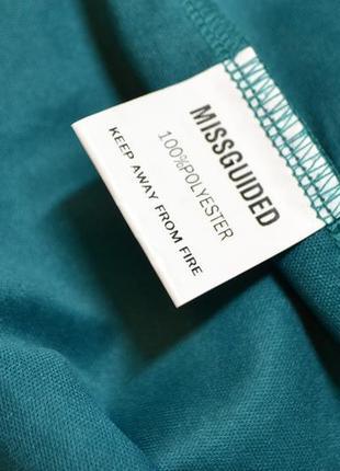 Нежный кружевной зеленый костюм ,блуза и юбка missguided5 фото