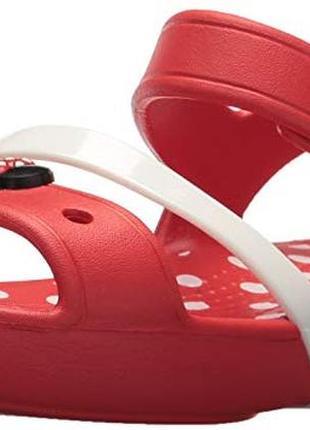 Босоножки crocs lina minnie sandal раз.j3 - 22см