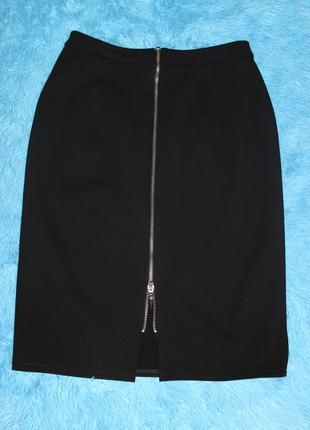 Офисная юбка-карандаш на молнии, суперкачество