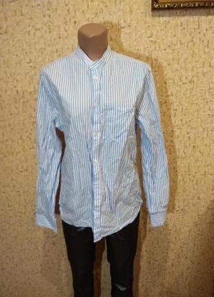 Рубашка h&m 46 размер  хлопок