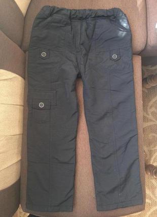 Зимние штаны на флисе 5-6 лет