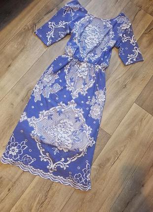 Шикарное нарядное платье asos