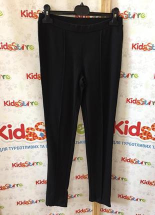 Новые классические черные брюки для девочки, original marines, 54742