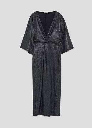 Эффектное платье zara
