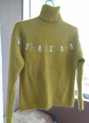 Красивый шерстяный свитерок/гольф xiang-yue