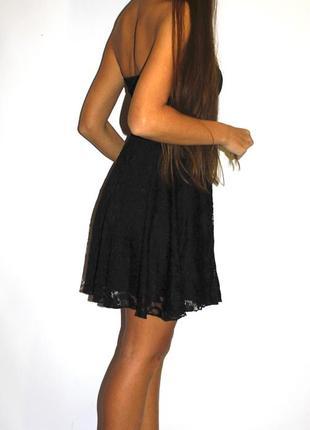 Гипюровое черное  платье - есть фото с сайта!4 фото