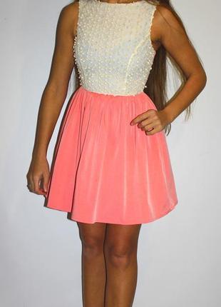 Красивое платье, с бубончиками на груди)  прекрасная ткань