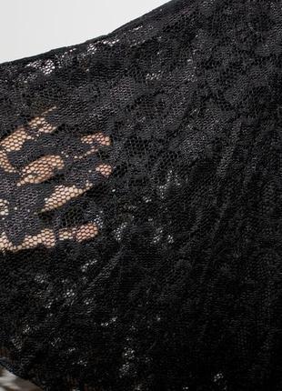 Гипюровое черное  платье - есть фото с сайта!5 фото