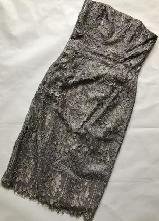 Шикарно ажурної платье в обтяжку