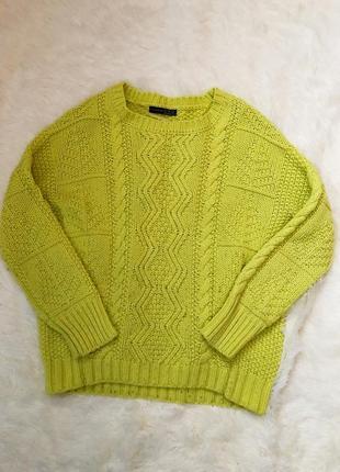 Яркий стильный свитер atmosphere