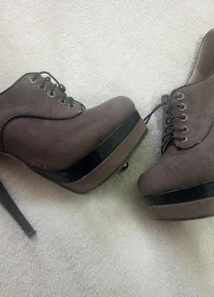 Esmiralda замшевые ботиночки