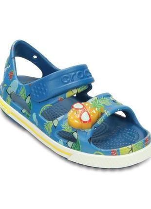 Сандалии crocs crocband sandal раз.c5 - 13см