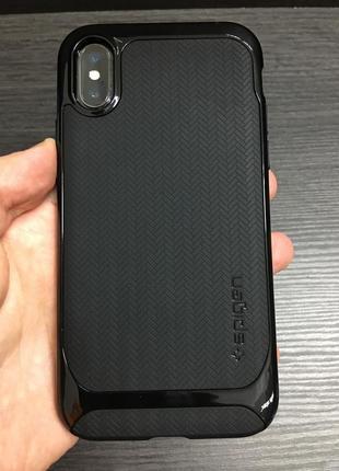 Чехол spigen neo hybrid iphone x оригинал новый