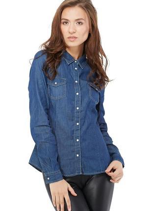 Актуальная джинсовая рубашка
