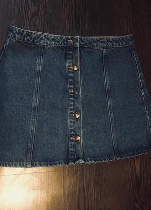 Джинсовая юбка  на пуговицах denim co и много скидок и подарков 🌶🌶🌶3 фото
