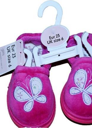 Акция тапочки от mothercare из англии 23 размер