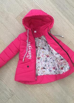Весенняя куртка на девочку размеры 116-134, весна 2019, есть замеры3