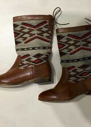 Обувь  полусапожки этно орнамент red level размер 39 цена 499грн