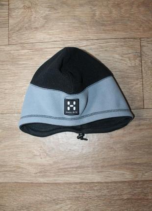 Оригинальная шапка haglofs fleece hat windstopper gore-tex s размер
