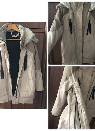 Куртка,  пуховик тёплая