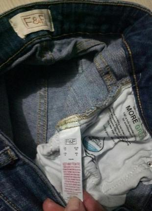 Укороченные джинсы f&f5 фото