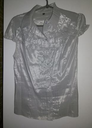 Блуза под короткий рукав