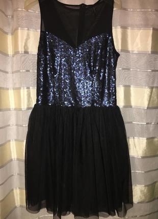 Платье девочке девушке на новый год или праздник 38(м)