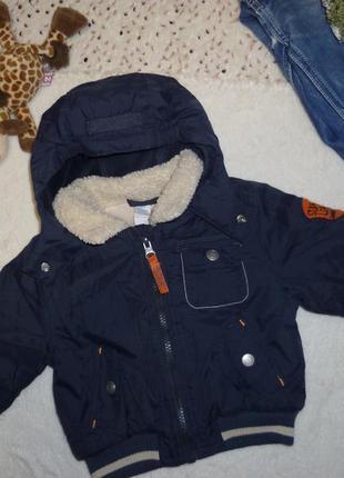 Куртка зимова baby club c&a (р.74 на 6-9міс) курточка