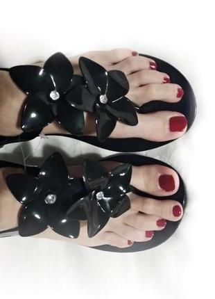 Силиконовые босоножки сандалии резиновые 25см вьетнамками