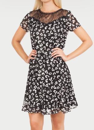 Нежное платье мини