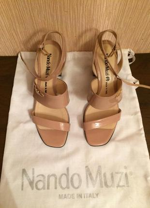 Туфли nando muzi оригинал размер 36