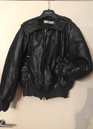 Курточка max mara с натуральным пухом