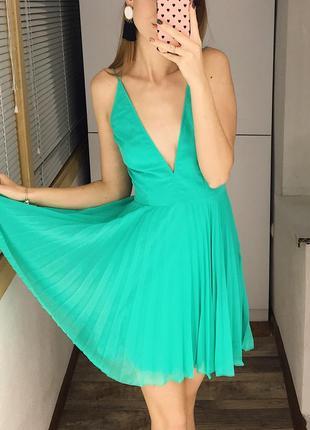 Шикарное коктейльное платье с перекрестной спинкой asos