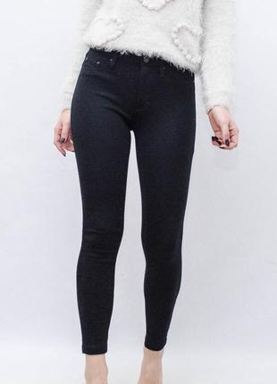 Чёрные скинни штаны gap