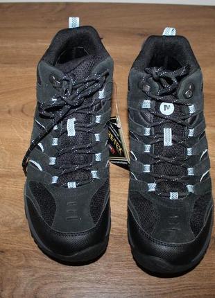 Треккинговые водонепроницаемые ботинки merrell gore-tex, 40 размер